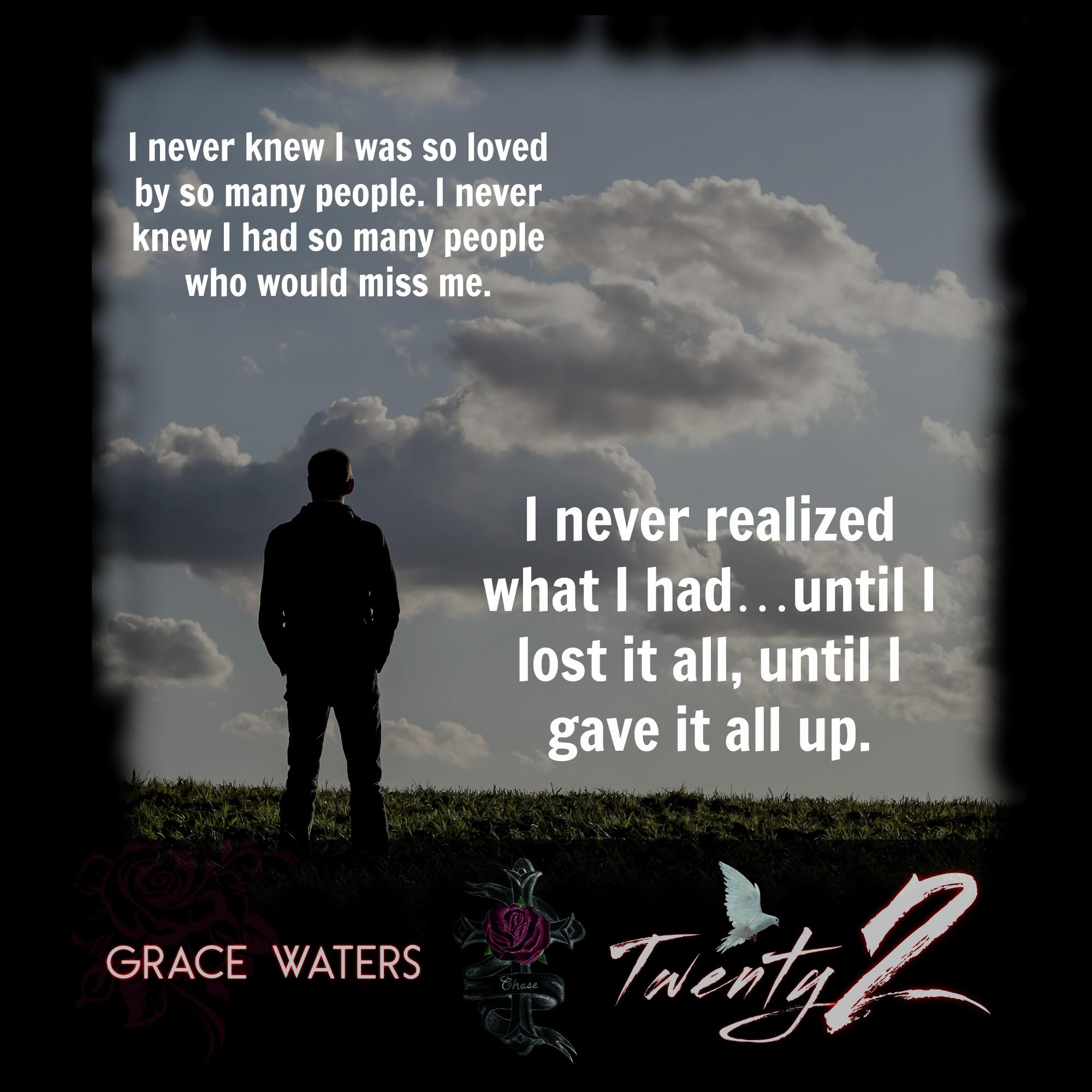 Twenty2 Teaser – Grace Waters, Author